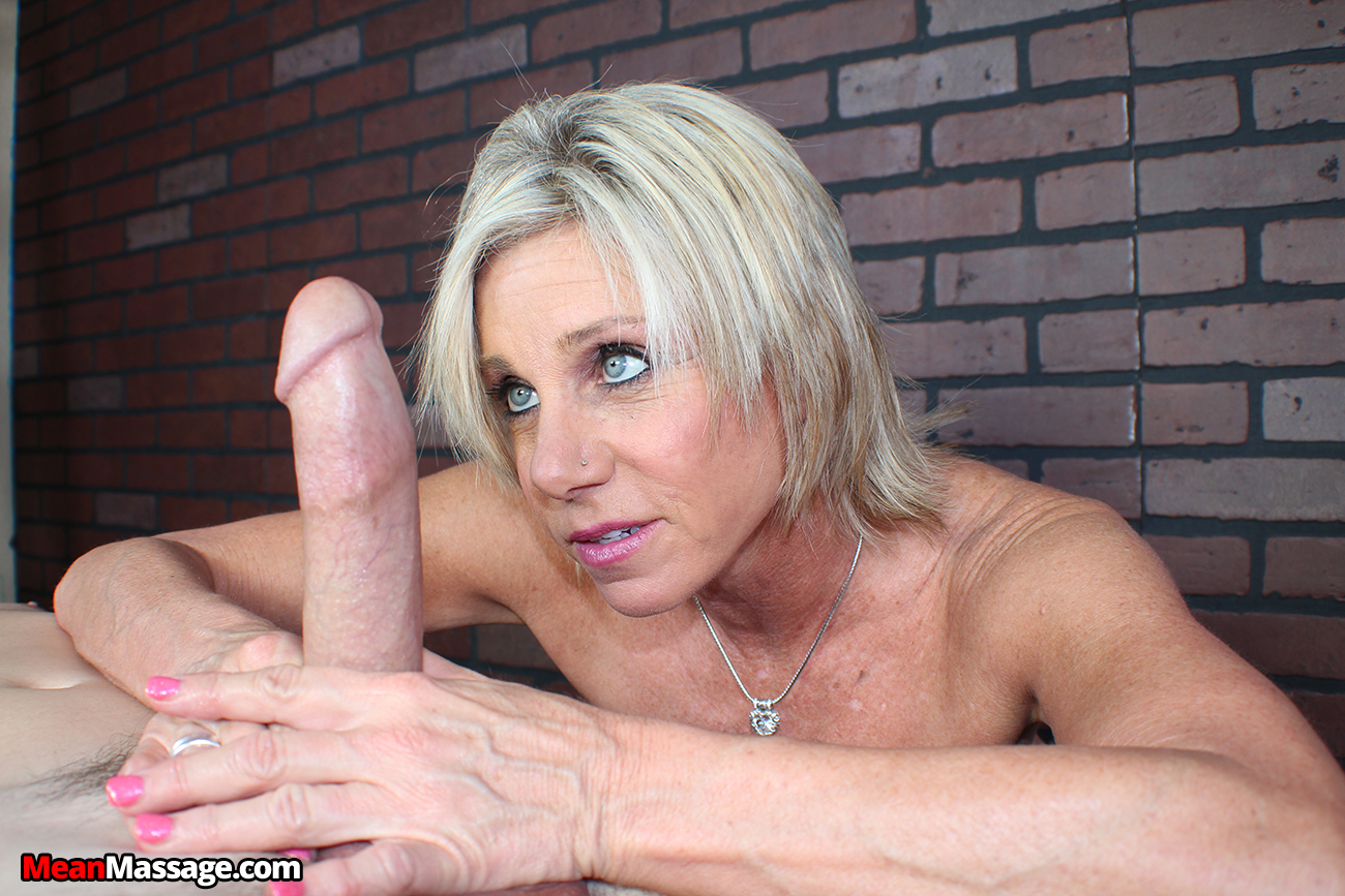 Blond wife takes his rod in mouth 3