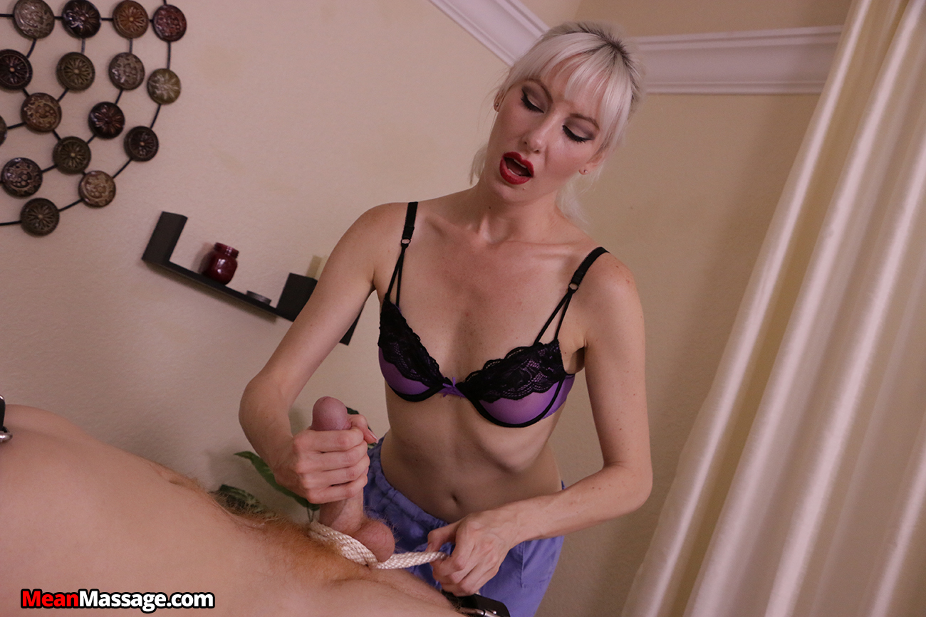 Lewd Masseur Teasing His Client