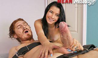 Nikki Vixen Gives a Mean Masage and ruins his orgsm!