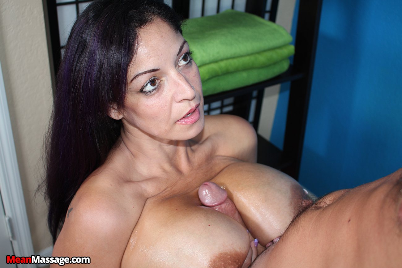 raquel raxxx: a massage, a titjob and a ruined orgasm