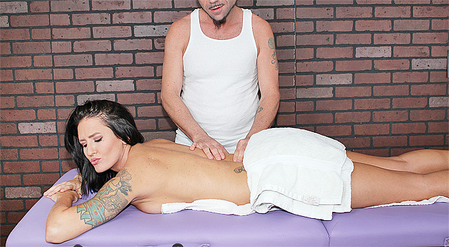 Woman on woman massage porn