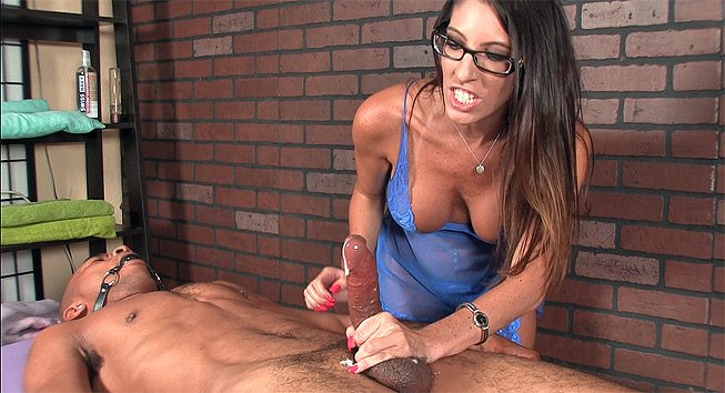 Dava Foxx Ruined Orgasm and CBT