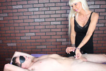 Hot Blonde Milf Kasey Giving Her Customer A Mean Happy Ending - Picture 6
