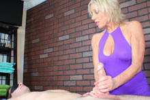 Payton Gets Her Client Blindfolded Teased And Eventually Brought To An Intense Orgasm - Picture 4