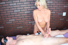 Payton Gets Her Client Blindfolded Teased And Eventually Brought To An Intense Orgasm - Picture 6