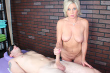 Payton Gets Her Client Blindfolded Teased And Eventually Brought To An Intense Orgasm - Picture 7