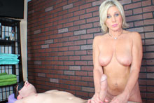 Payton Gets Her Client Blindfolded Teased And Eventually Brought To An Intense Orgasm - Picture 9