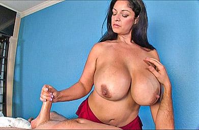 Massage handjob big cock